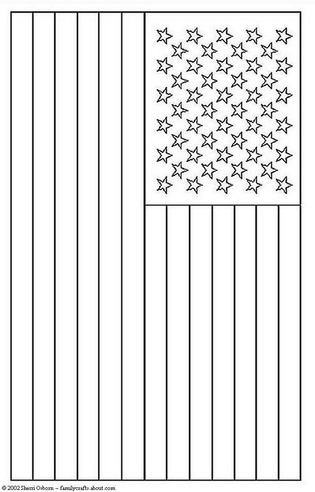 4 Images of Flag Coloring Sheets Printables