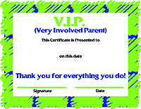 5 Images of Printable Parent Awards