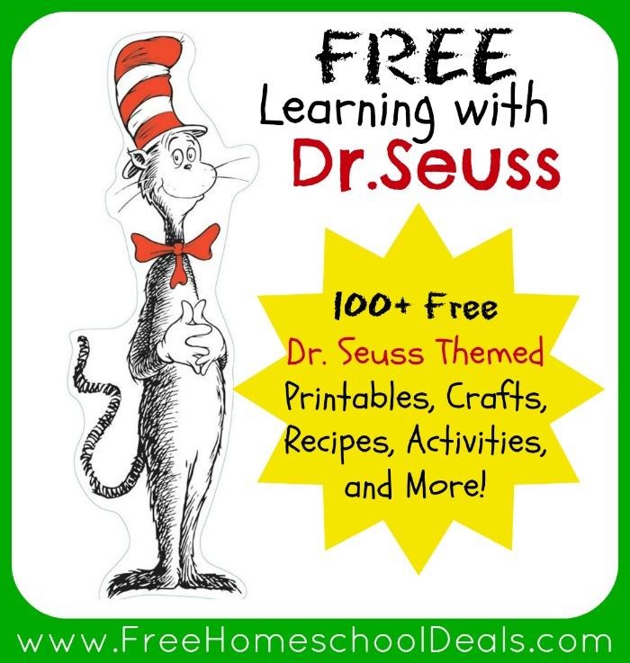 Dr. Seuss Printables Free