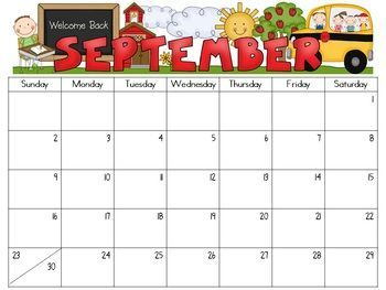 9 Images of Editable 2016 Calendar Printable For Teachers