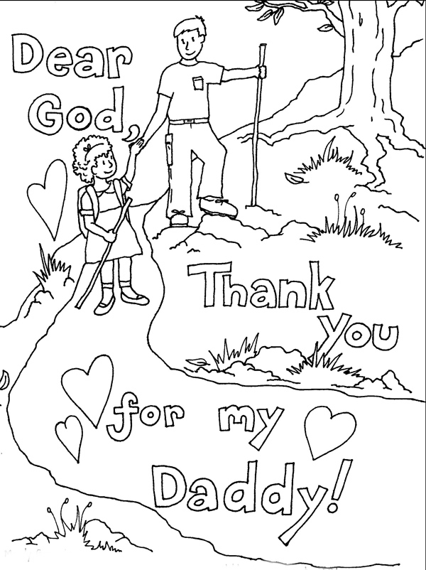 7 Images of Father's Day Printable Coloring Sheets