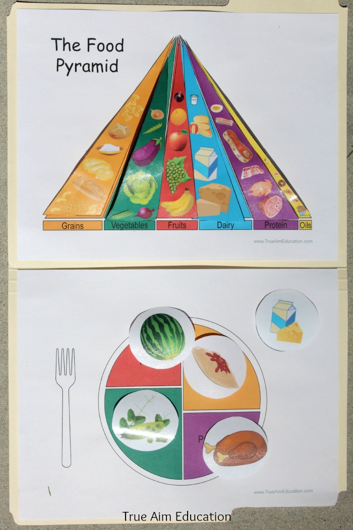 5 Images of Veggies Food Group Printable