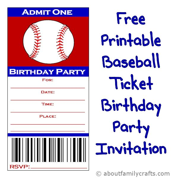 Admit One Party Invitation Template Invitations Ideas – Admit One Template
