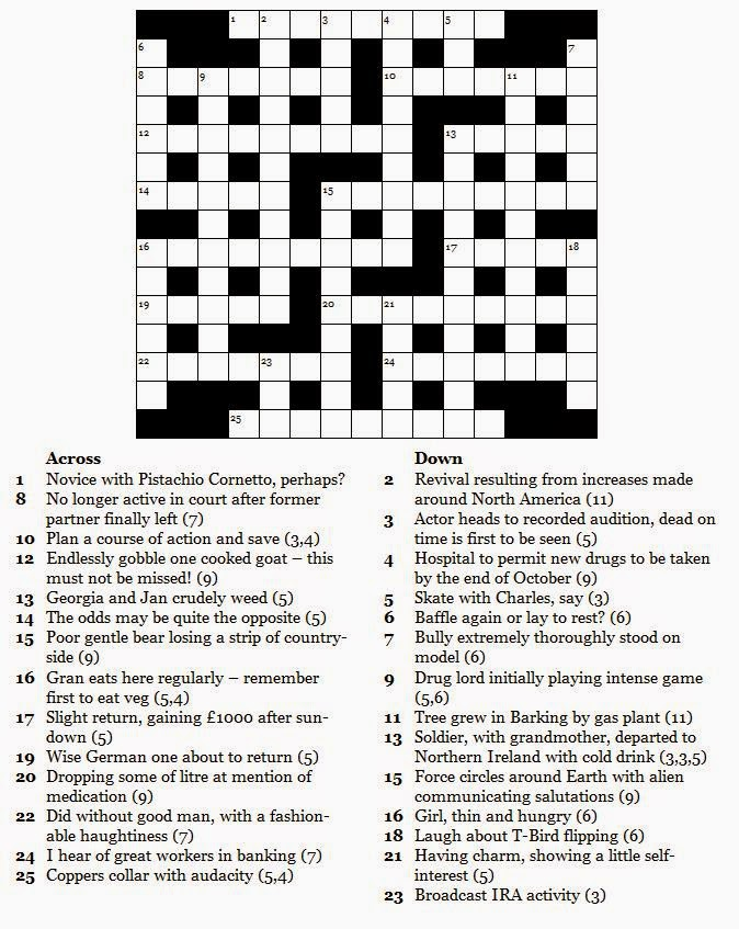 Best Images of Printable Celebrity Crossword Puzzles - Free Printable ...