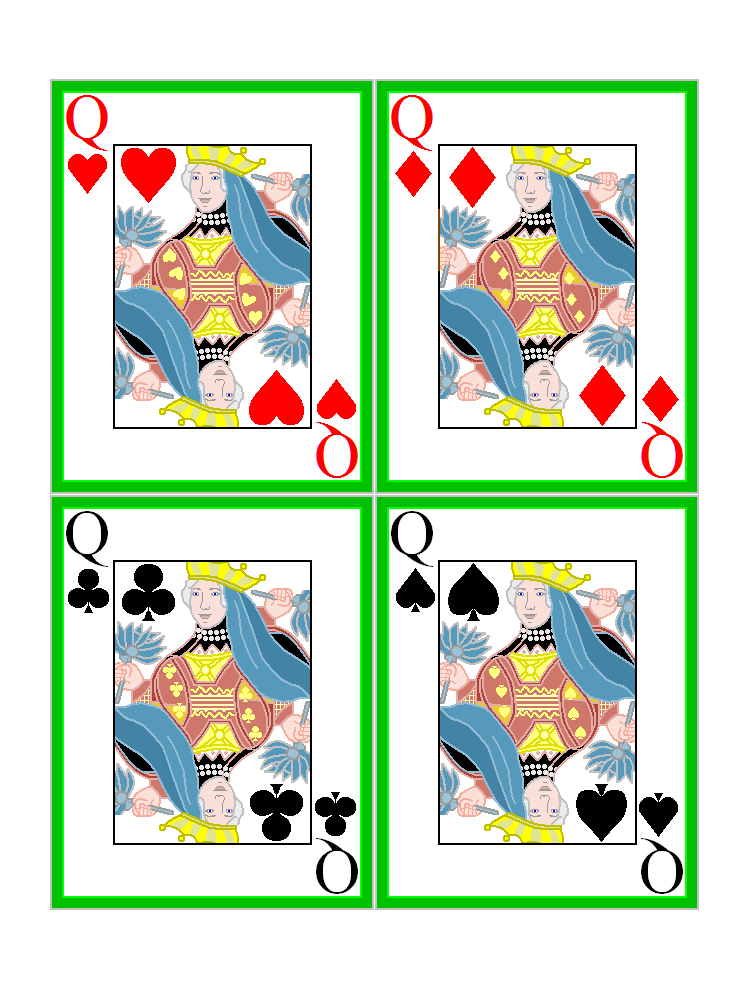 7 Images of Printable Playing Card Games Animation
