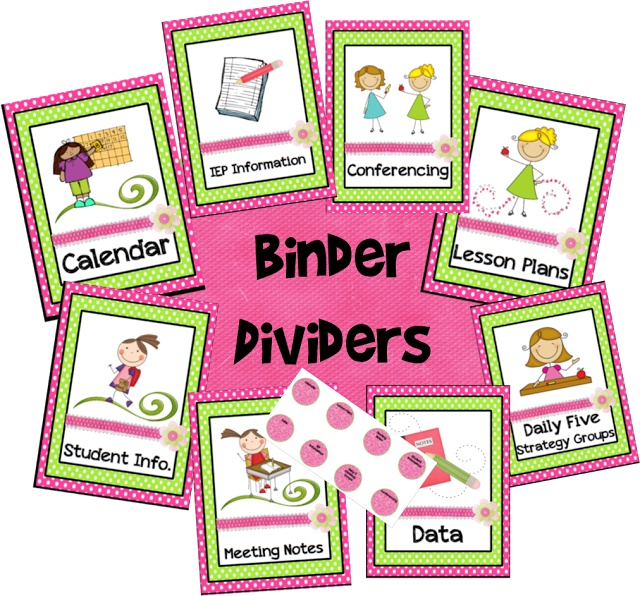 7 Images of Kindergarten Calendar Binder Printables