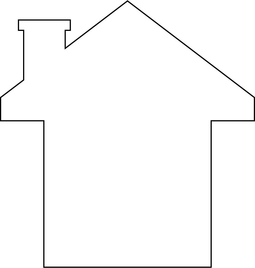 House Shape Outline