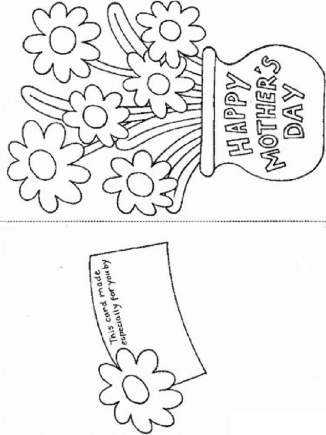 5 Images of Mother's Day Card Printable Templates