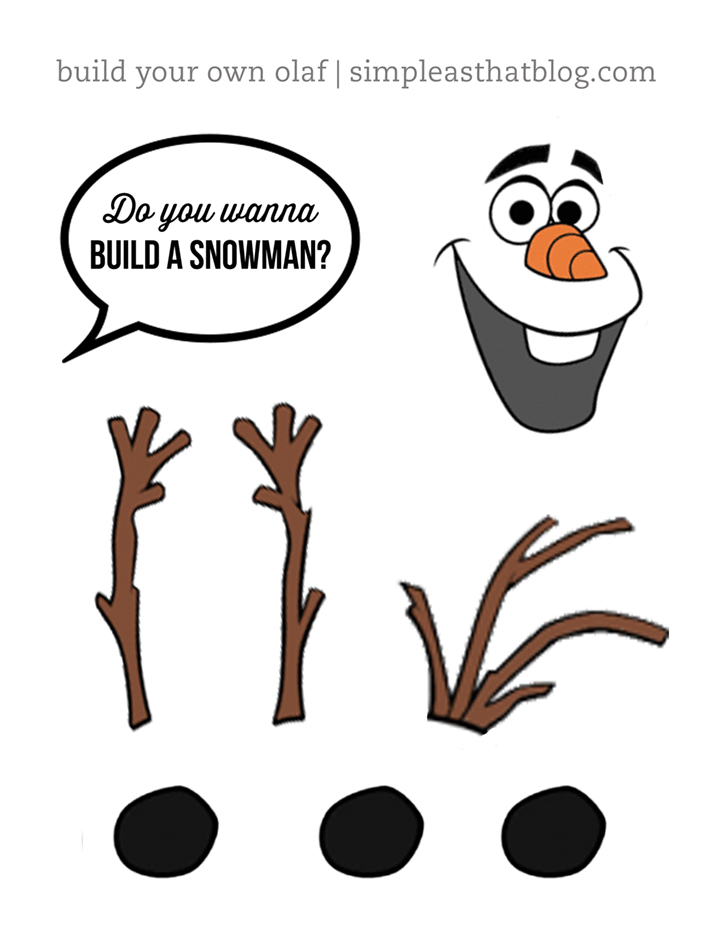 8 Best Images of Olaf The Snowman Face Printables - Olaf ...