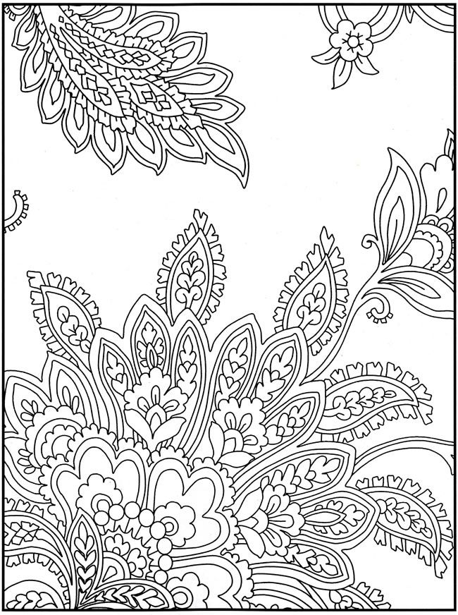 6 Images of Intricate Coloring Pages Free Printable