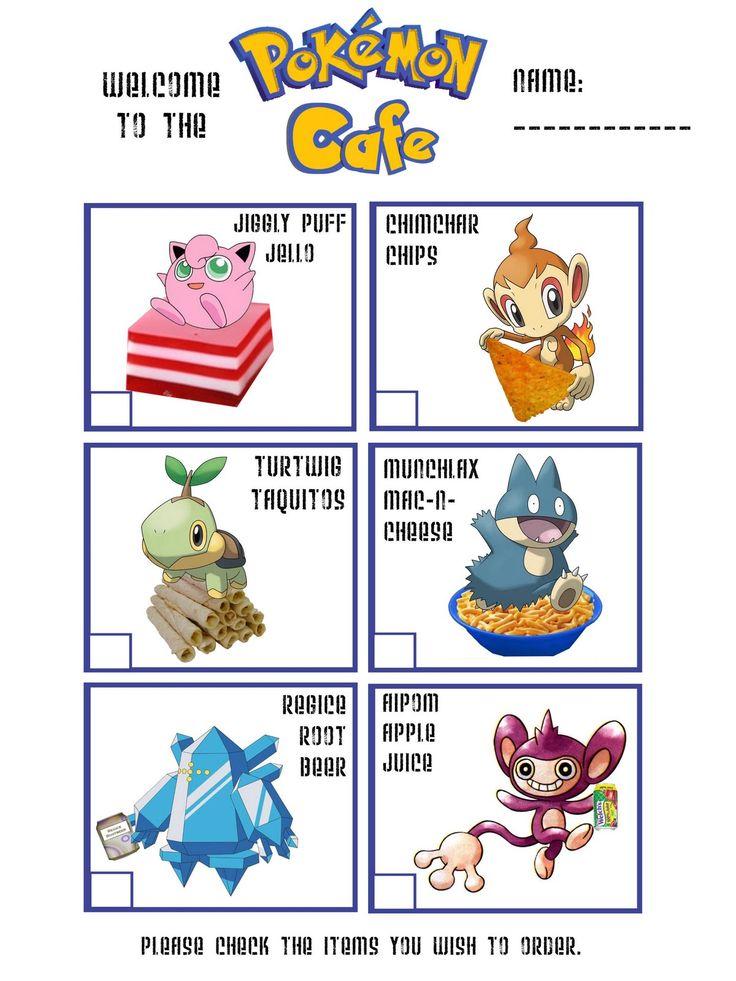 Pokemon Party Game Ideas
