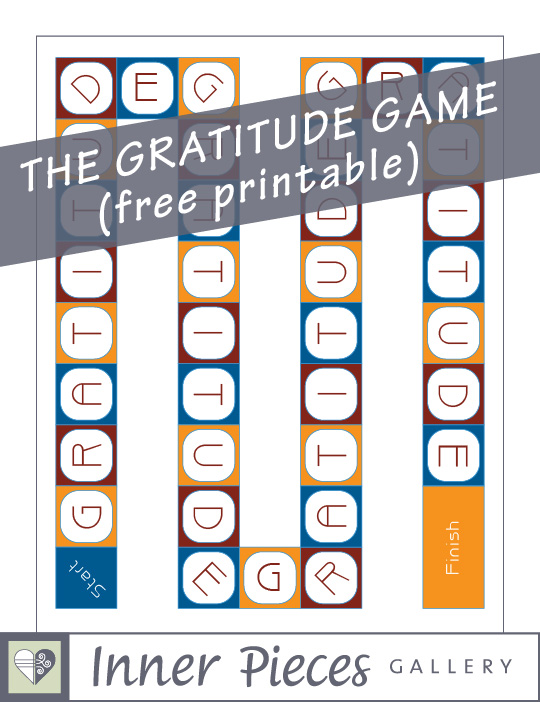 6 Images of Gratitude Memory Game Printable