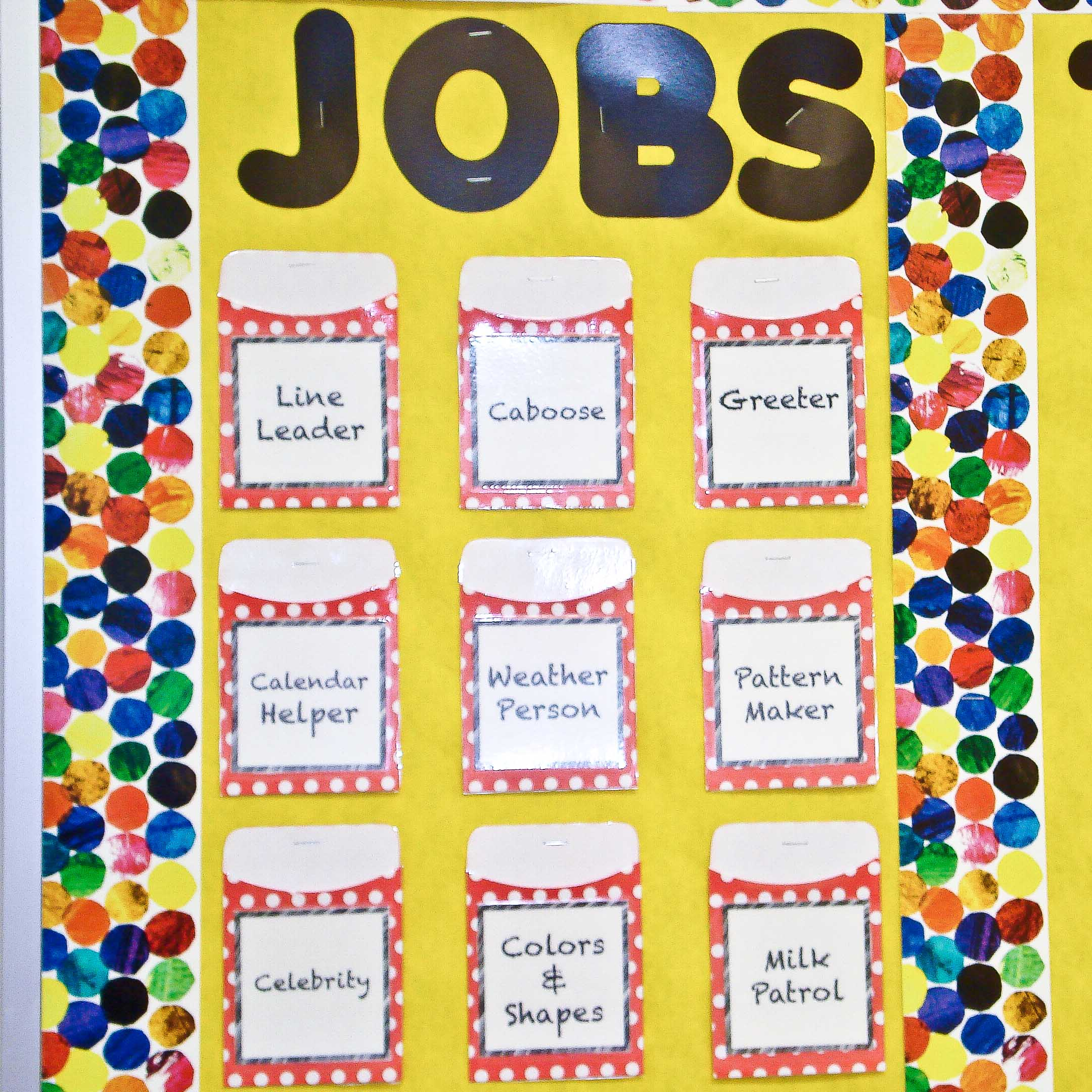Classroom Ideas Printables ~ Best images of classroom jobs printables job