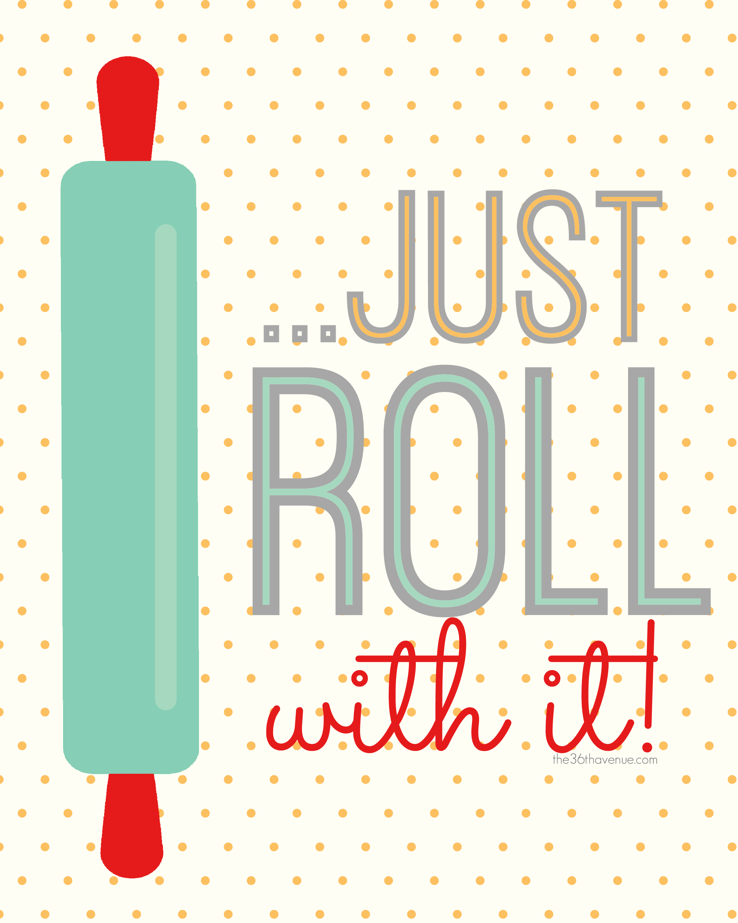 Roll with It Kitchen Printables Free