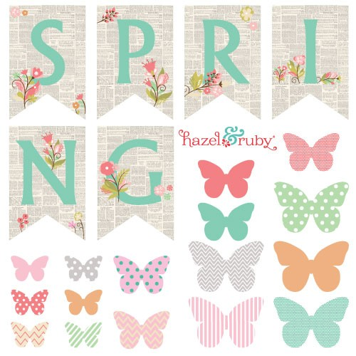 7 Images of Spring Banner Printable