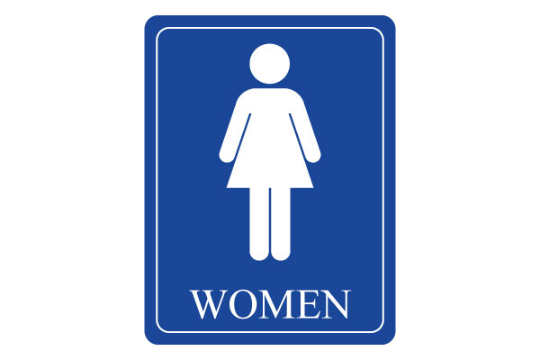 Women's Restroom Sign Printable