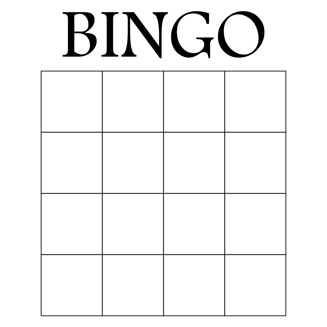 blank scorecard template - 9 best images of printable office bingo printable bingo
