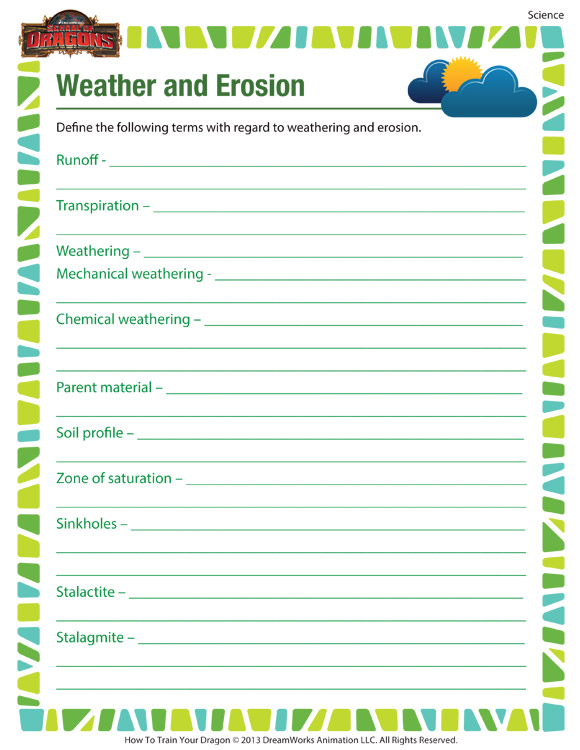 Free Printable 6th Grade Science Worksheets
