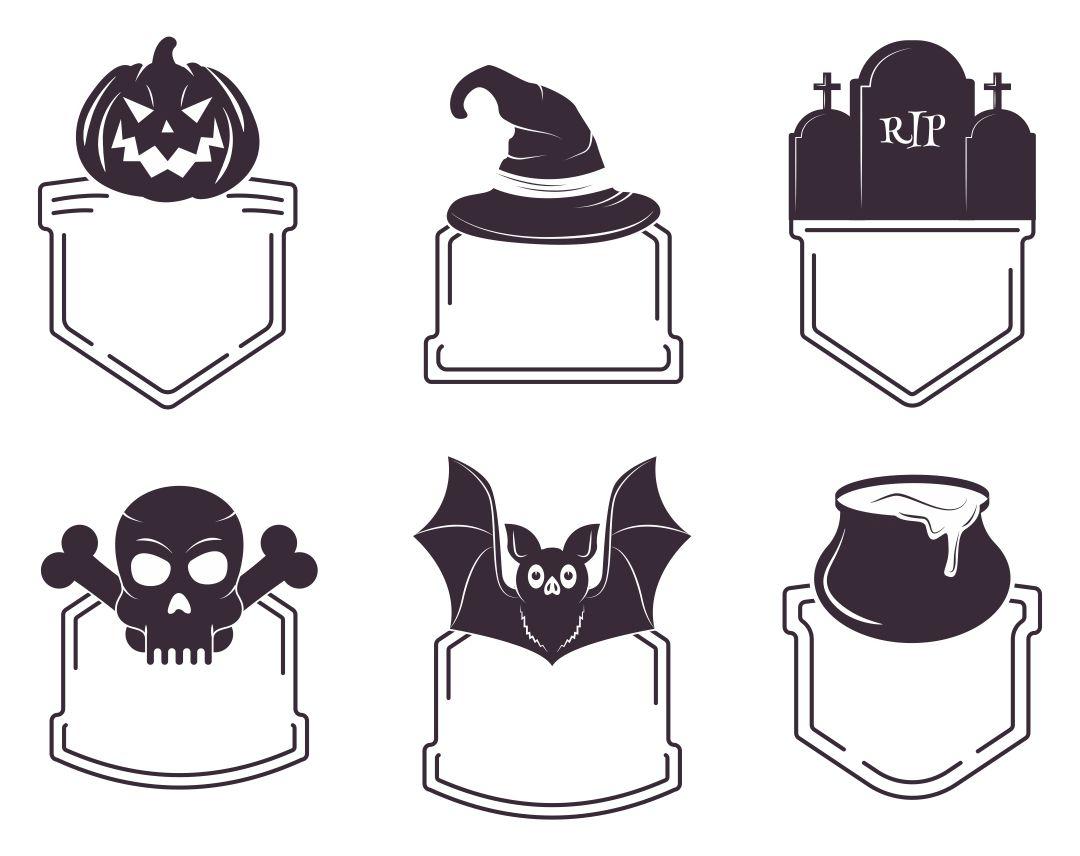 Blank Halloween Labels Printable Free