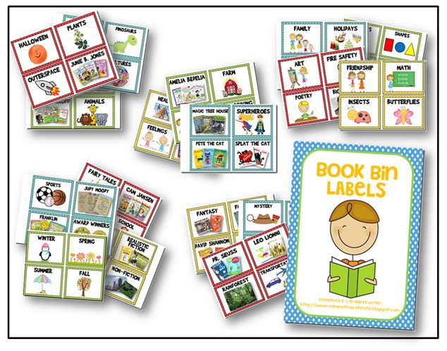 5 Images of Free Printable Classroom Book Labels