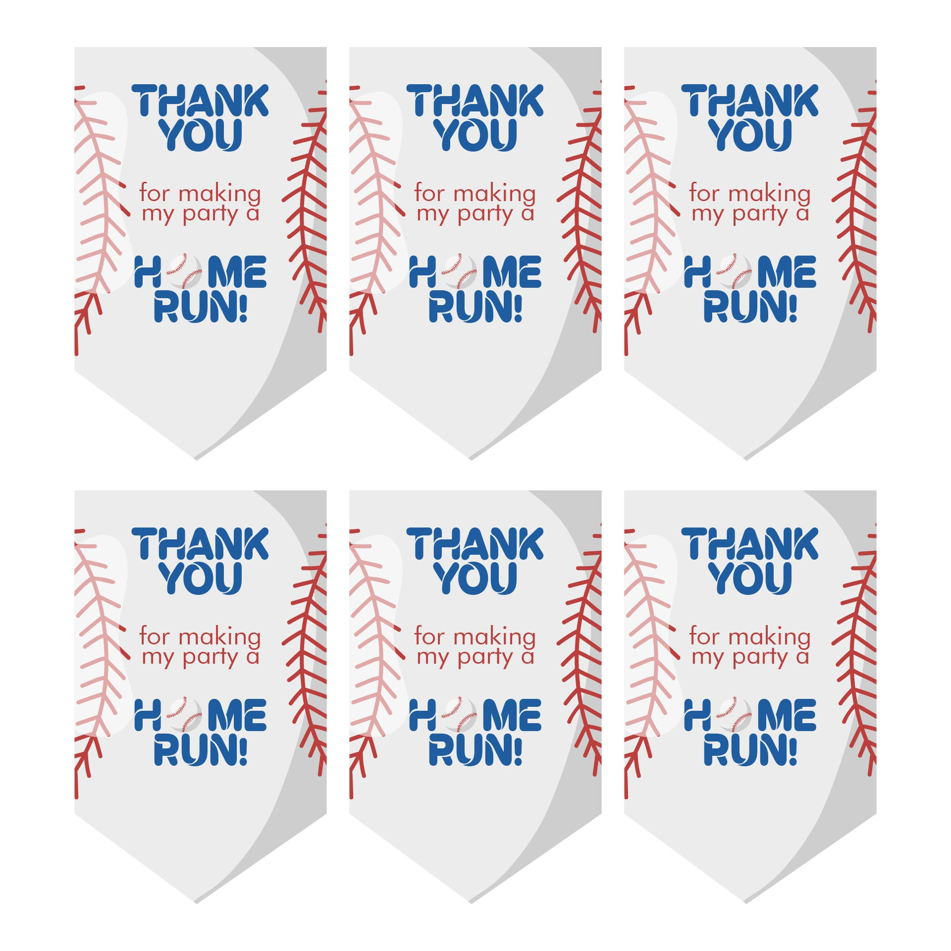 Braves Baseball Bat Bag Tags Printables