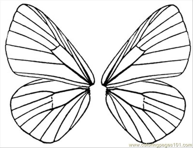6 Images of Butterfly Wings Printable Template