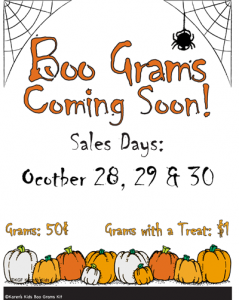 6 Images of Free Printable Boo Flyers