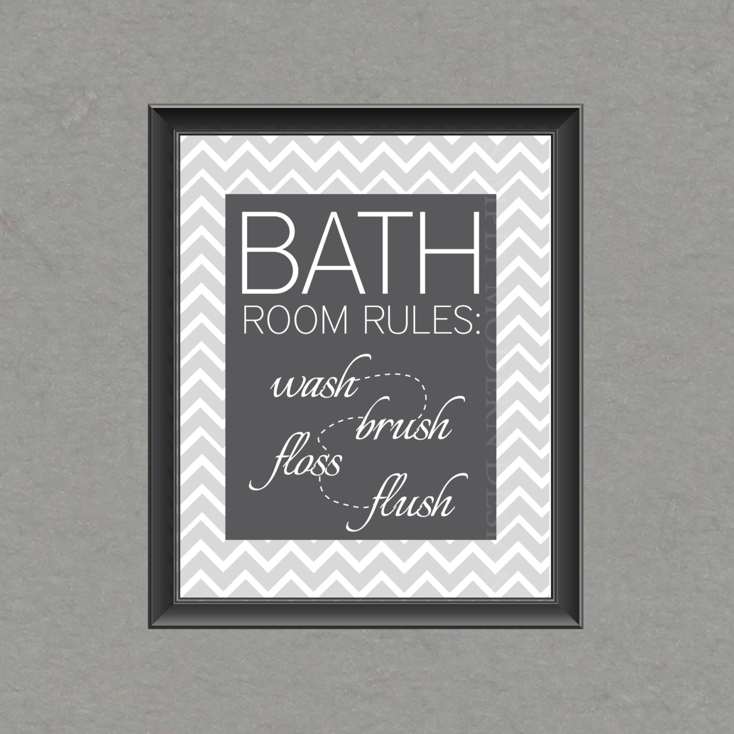 Free Bathroom Printable Wall Art Chevron Chevron Bathroom Wall Art