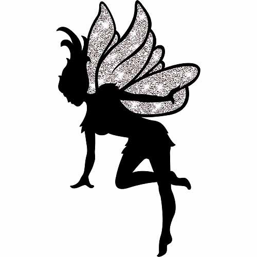 Fairy Silhouette Cut Out