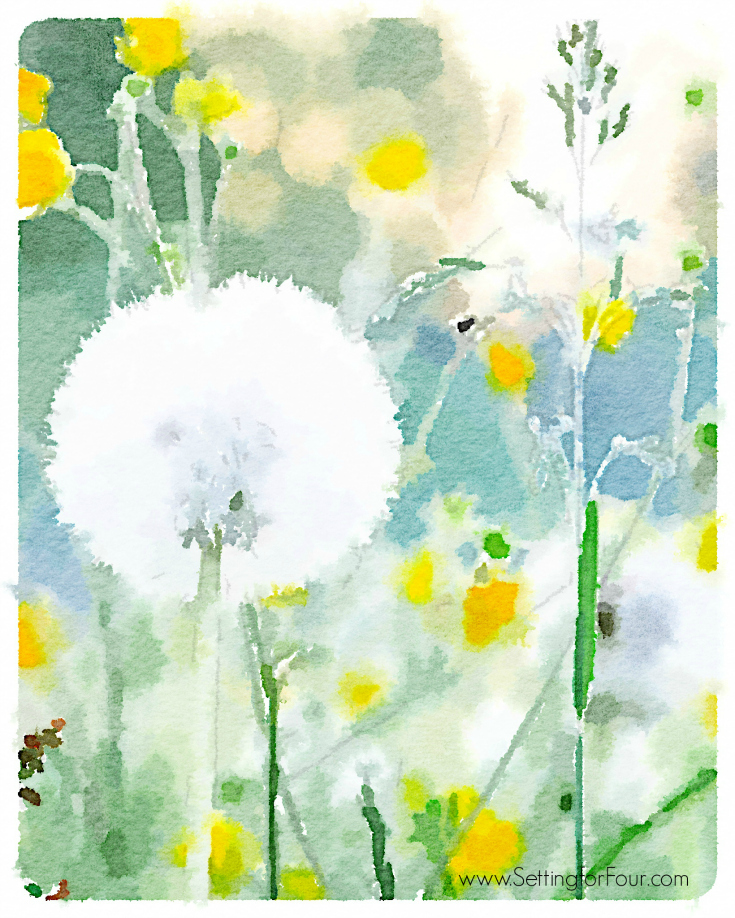 8 Images of Free Printable To Watercolor Flowers
