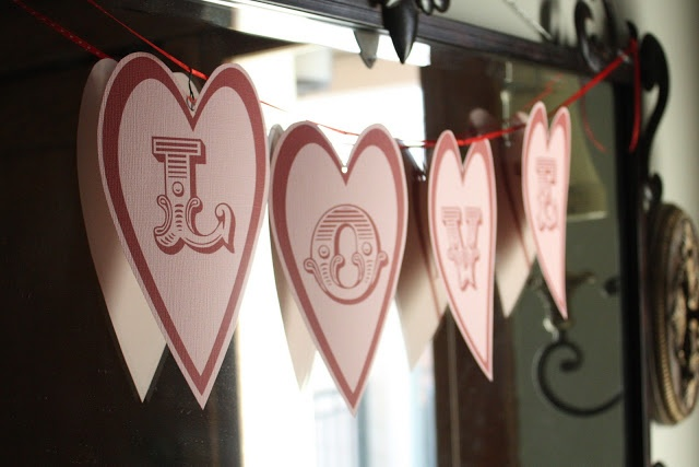 7 Images of Free Printable Love Banner