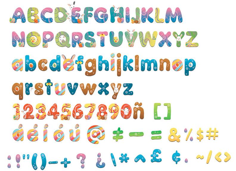 free printable alphabet letters clip art - photo #17