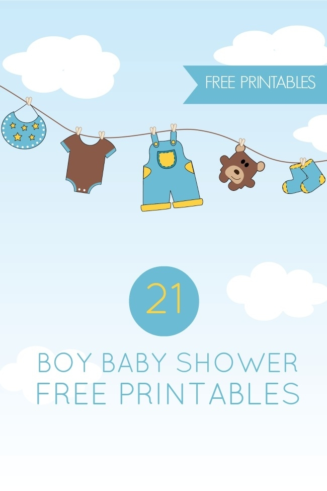 8 Images of Gifts Baby Boy Printables Banner