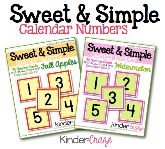 Classroom Calendar Numbers : Best images of free printable classroom calendar numbers