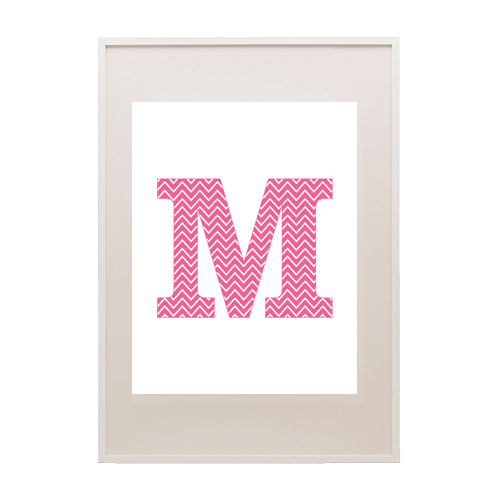 7 Images of Pink Letter M Printables Free