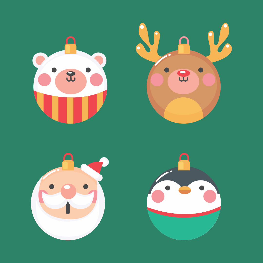 7 Images of Printable Christmas Tree Ornaments