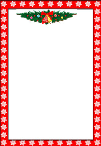 7 Images of Free Printable Holiday Letter Templates