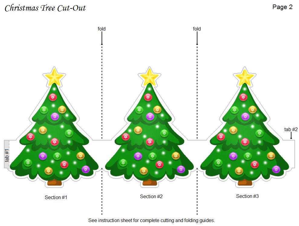 5 Images of Printable Christmas Cutouts