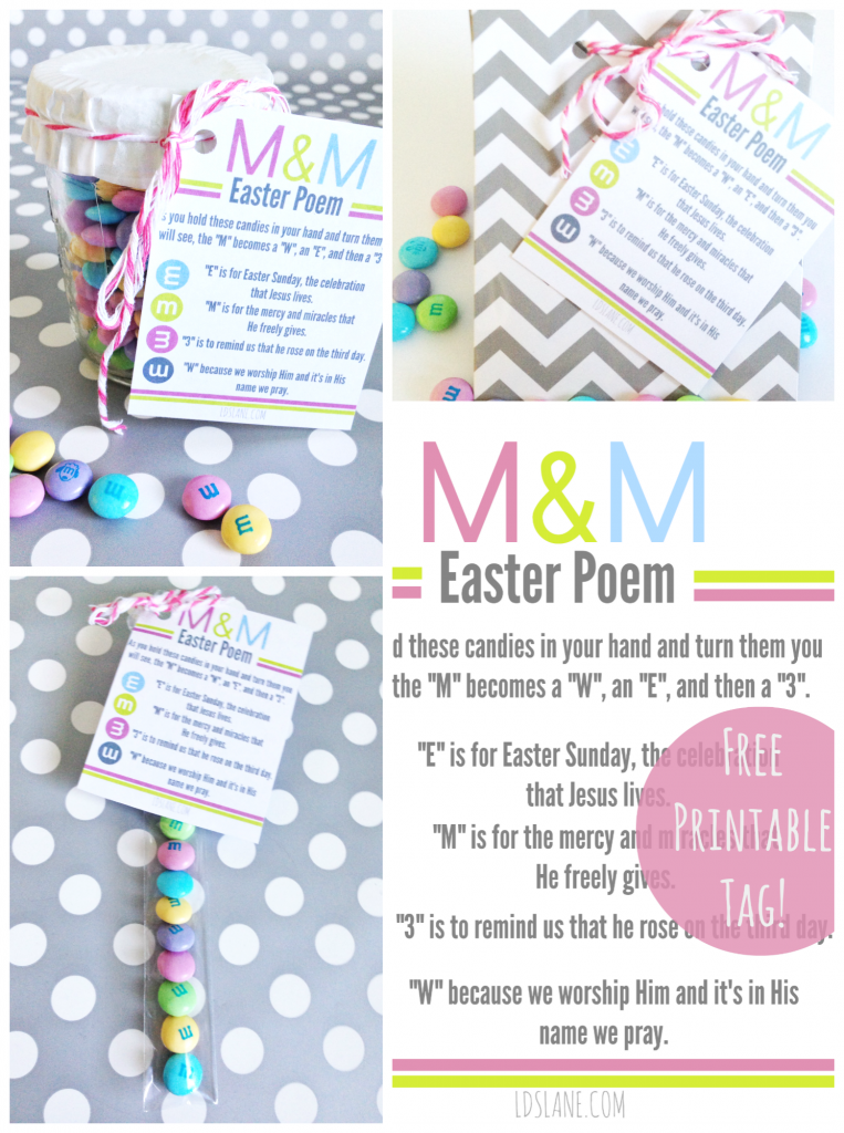 8 Images of Free Printable Mm Easter Story