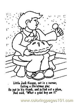 Free Printable Nursery Rhymes Coloring Pages