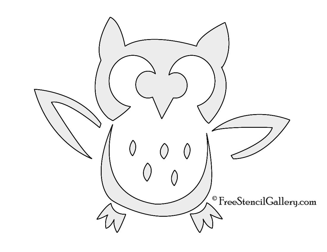 Owl template printable martha stewart - photo#26