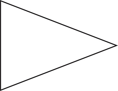 Free Printable Pennant Banner Template