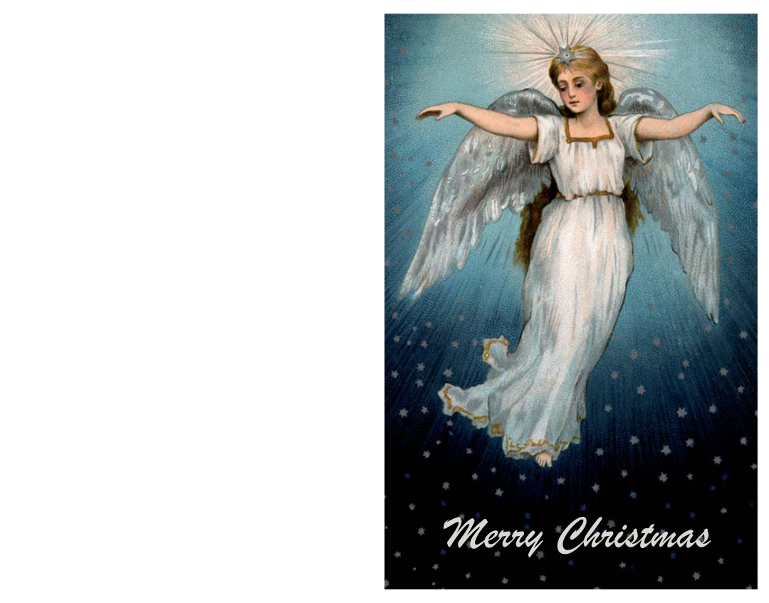 5 Images of Printable Religious Christmas Cards
