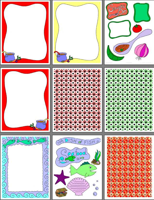 9 Best Images of Free Scrapbooking Printables - Free ...