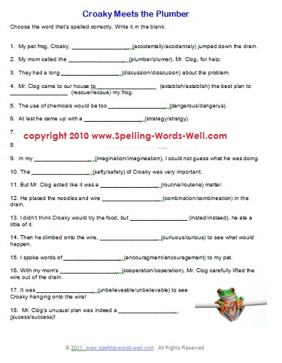Worksheet 6th Grade Science Worksheets Free Printable 7 best images of 6th worksheets printable grade free spelling grade