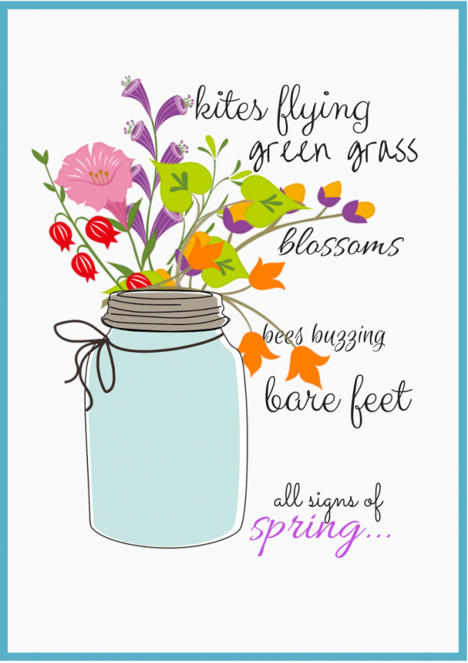 6 Images of Free Printables Spring 2014