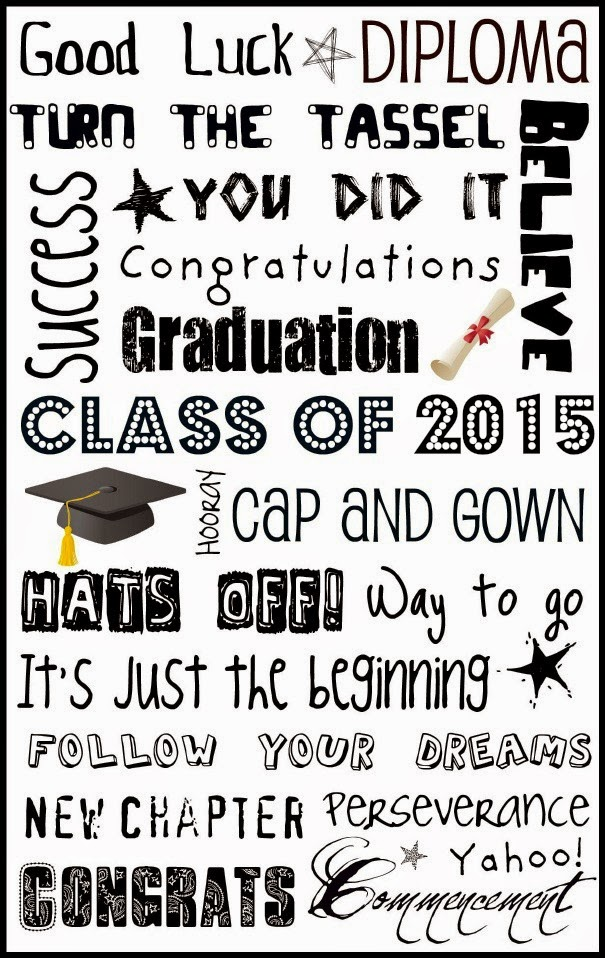 8 Images of 2015 Graduation Subway Art Free Printable