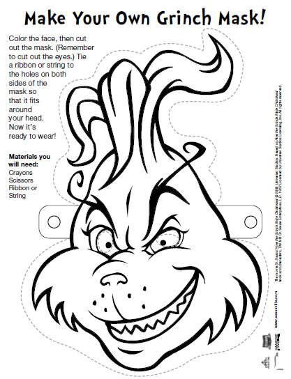 Smart image pertaining to grinch printable template
