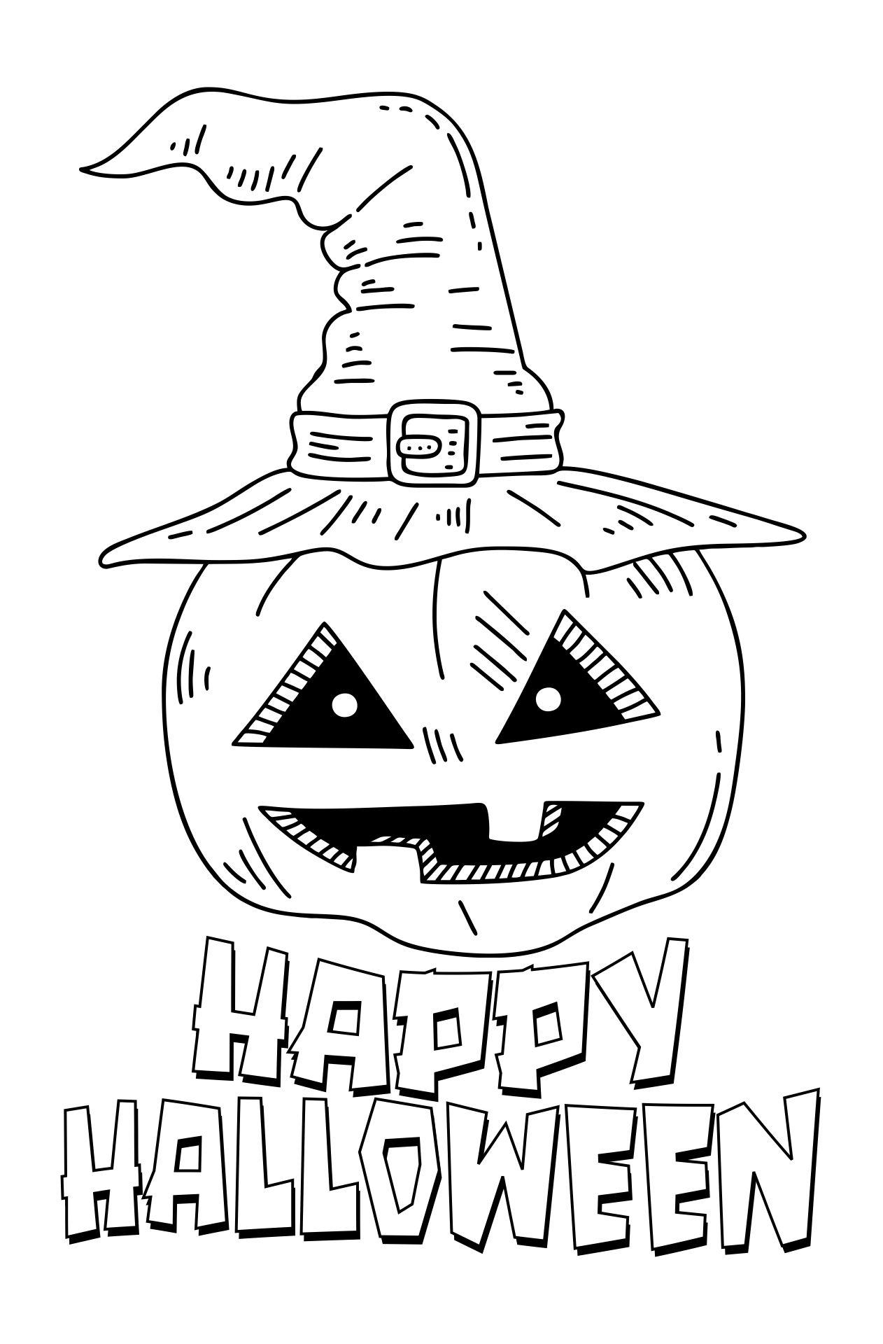 Halloween Coloring Printables
