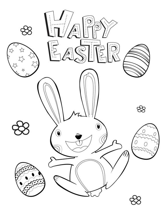 6 Images of Happy Easter Printables